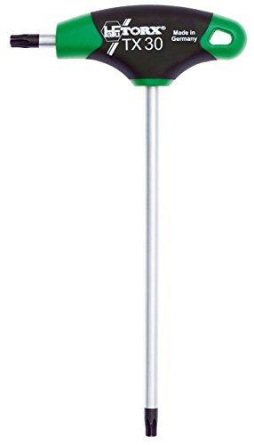 TORX® 70549 Schraubendreher T30 2K mit T-Griff | Made in Germany | Torxschlüsselsatz | Schraubenschlüssel | TX | für Torx Schrauben (Torx Schraubenschlüssel T30)