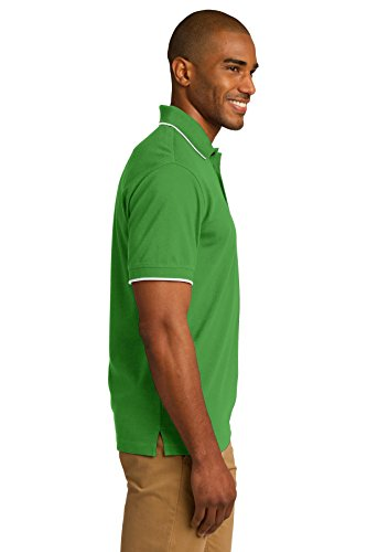 Port Authority Rapid Dry Trinkgeld Polo K454 Vine Green/ White