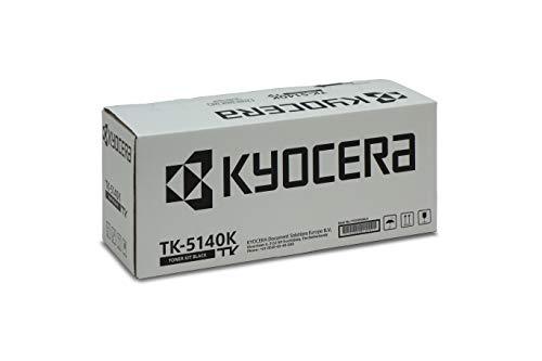 Kyocera TK-5140K Toner Schwarz. Original Tonerkartusche 1T02NR0NL0. Kompatibel für ECOSYS M6030cdn, M6530cdn, P6130cdn -