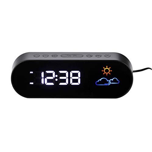 Xinxinchaoshi Pantalla a Color Previsión meteorológica Reloj Estación meteorológica LED Digital...