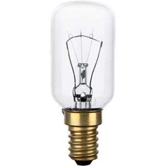 Ampoule pour four ou cuisinière. Puissance: 40W culot: E14 T29 résiste jusqu'à 300°c LFO135 LFO005