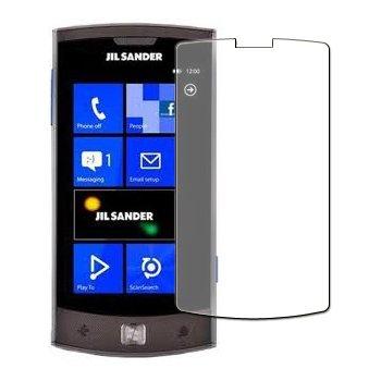 6 x Displayschutzfolie passgenau für LG E906 Jil Sander - Anti-Kratzer Displayschutz unsichtbar Folie