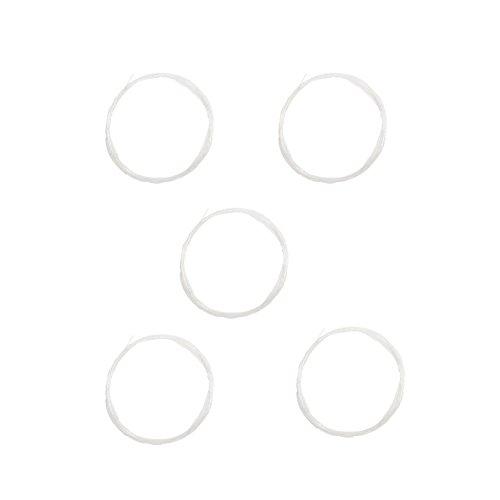 Fliegenvorfach 5 Stück 9ft Leader 0x 1x 2x 3x 4x 5x 6x Transparent