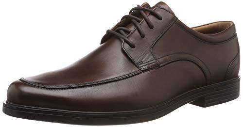 Clarks Herren Un Aldric Park Derbys, Braun (Tan Leather), 47 EU