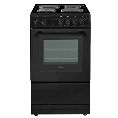 318zEaUizNL. SS500  - Newworld NW50ES Freestanding A Rated Electric Cooker in Black