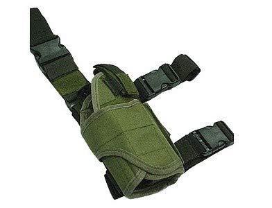 Wisha Funda táctica de Pernera para Pistola Verde