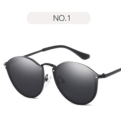 WZYMNTYJ Cat Eye Sonnenbrille Damen Elegant Randlose Vintage Sonnenbrille Für Damen Herren Luxury Designer Uv400