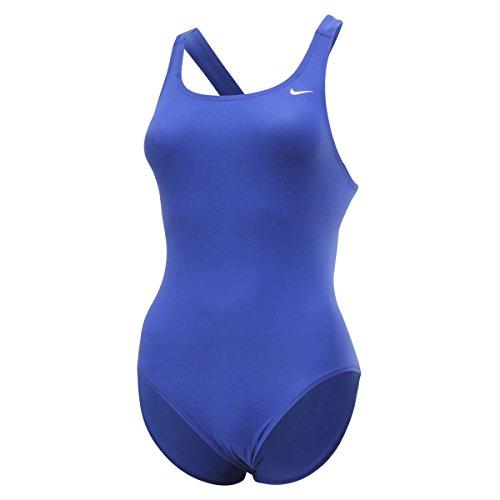 Nike Womens Swim Core Solids Fast Back Tank Bleu roi