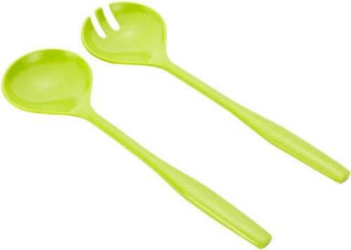Emsa myCOLOURS PARI Couverts à salade en plastique, 2 pièces, 30 cm, vert clair,
