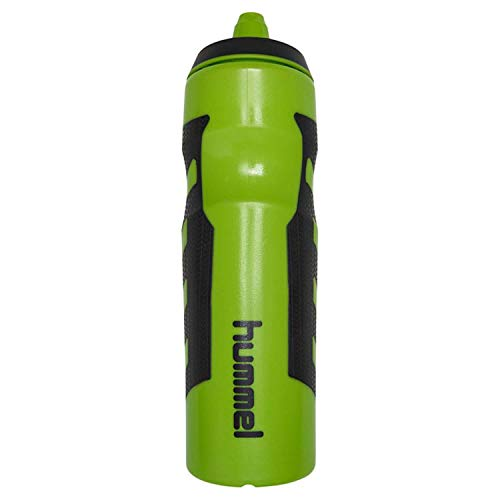 Hummel Court Water Bottle Green Lime Lime Green Bottle