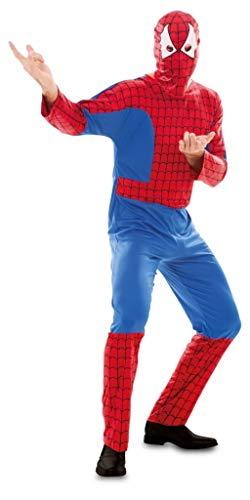 Unbekannt Aptafêtes–cs926181/M Spider Man Kostüm–Gr. -