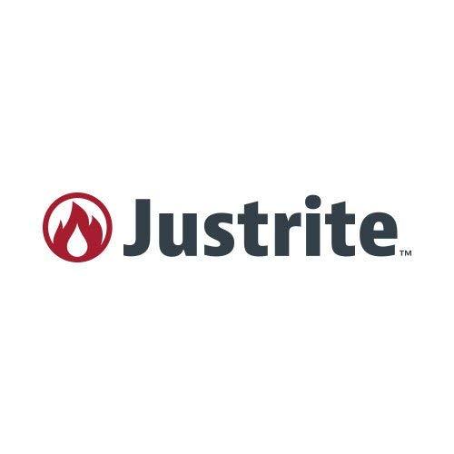 JustRite 02663105910contenedor de residuos de basura, 6L, color blanco