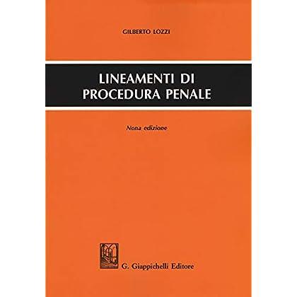 Lineamenti Di Procedura Penale