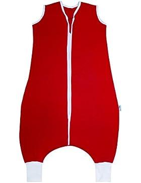 Schlummersack Schlafsack mit Füßen Ganzjahres-Variante für Erwachsene, 2.5 Tog in verschiedenen Designs