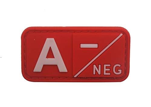 Shoppy Star   Parche 3D PVC Grupo Sangre roja A+ B+