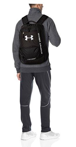 Under Armour Unisex Multisport Ua Hustle Backpack Ii Rucksack Schwarz