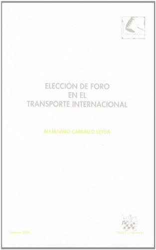 Elección de Foro en el transporte internacional