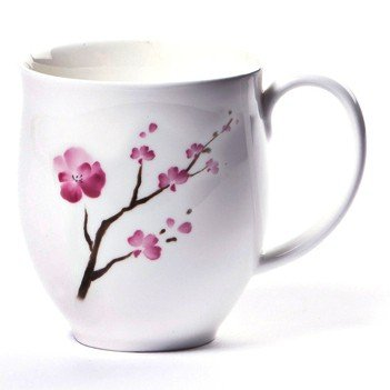 Shamila® Becher Cherry Blossom 0,32l Bone China Blossom Bone China