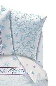 Drap Housse 90 FROZEN - Drap housse 90x 190 cm Frozen, La Reine des neiges, Elsa et Anna, NORDIC (new)