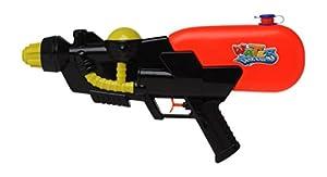 Atosa 13333-Pistola de Agua, 42x 20cm, Color Rojo/Negro