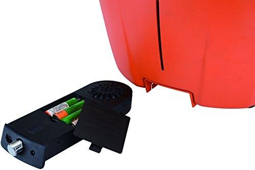 El Fuego rauchfreier Holzkohlegrill, Tulsa, rot, 34,2 x 34,2 x 21,5 cm, AY5253 - 8