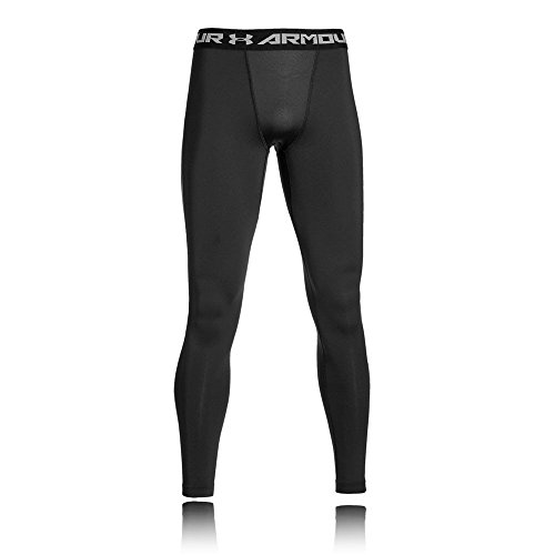Under Armour Ua Cg Armour Leggings Herren Fitness - Hose, Schwarz (Black/Grau), M