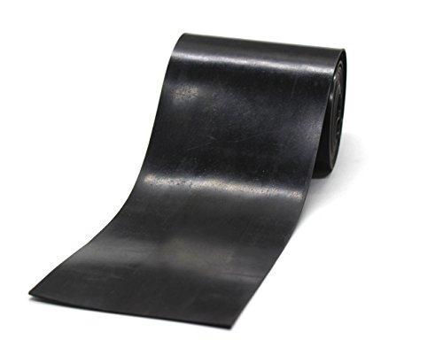Neopren Gummi Streifen schwarz, strapazierfähig, Dichtringe DIY Material, unterstützt, Nivellierung,-, Stoßstangen, Schutz, Abrieb, Bodenbelag 0.039〃Thick x 3.93〃Wide x 6.56feet long