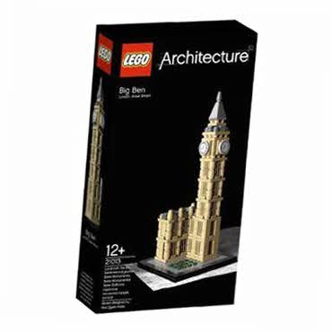 Memorable Lego Big Ben (21013) - Lego Wrapped Edition -- Picture