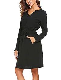 Suchergebnis auf Amazon.de für  Blusenkleid - Kleider   Damen  Bekleidung 16c61d6c12