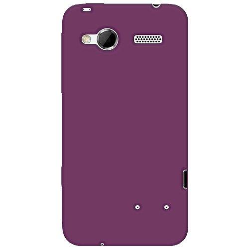 Amzer Silikon-Schutzhülle für HTC Radar, violett Htc-htc Radar
