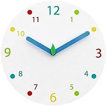 2982335489dd JIAJU iVansa - Reloj de Pared Infantil