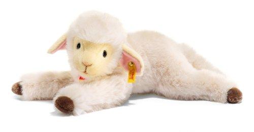 Steiff 103490 - Boeky Lamm liegend 40 cm, weiss