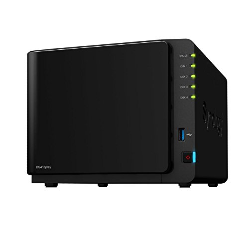 Synology DiskStation DS416 Play 4-Bay Diskless Network Attached Storage Drive (Black)