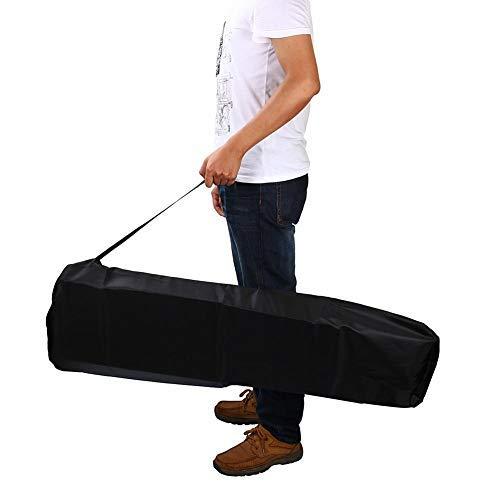 Universal Portable Stroller Storage Organization with Shoulder Straps Lightweight Bag Outdoor Airplane Travel Car Black