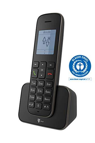 Telekom Sinus 207 Schnurlostelefon DECT analog, schwarz