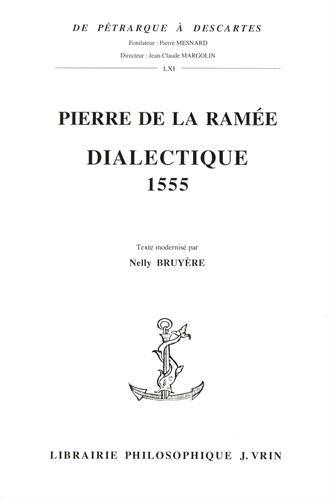 Dialectique 1555 : Un manifeste de la Pléiade
