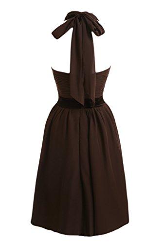 Missdressy -  Vestito  - linea ad a - Donna Cioccolata