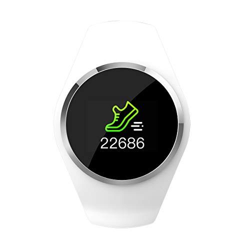 JIADIAN Q1 Reloj Inteligente Reloj Bluetooth para Mujer con Monitor de sueño...