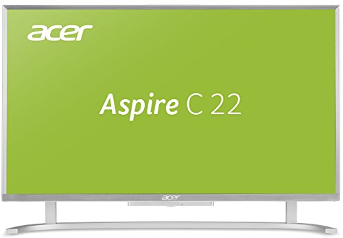 Acer-Aspire-C22-760-5267-cm-215-Zoll-Full-HD-All-In-One-Desktop-PC-Intel-Core-i3-6100U-4GB-RAM-2000GB-HDD-Intel-HD-Win-10-Home-weisilber