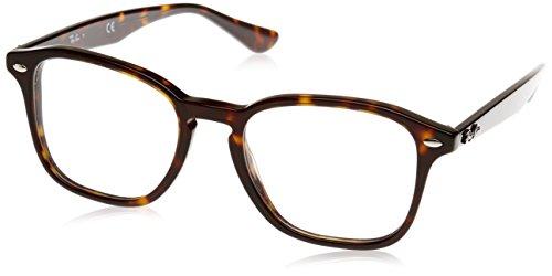 Rayban Unisex-Erwachsene Brillengestell RX5352, Braun (Havana), 50