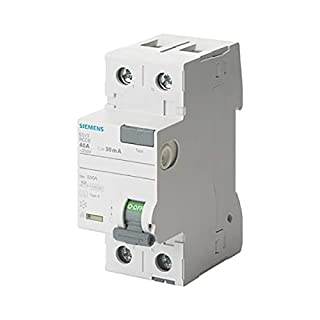 Siemens Indus.Sector FI-Schutzschalter 5SV3312-6 25A,1+N,30mA,230V SENTRON Fehlerstrom-Schutzschalter 4001869429632