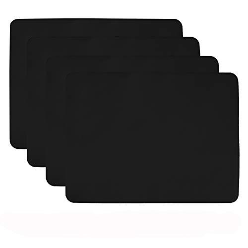 Aspire Lot de 4 sets de table en silicone antidérapant - Dessous de plat