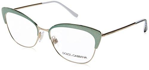 Dolce & Gabbana Brillen ORTENSIA DG 1298 GREEN PALE GOLD Damenbrillen