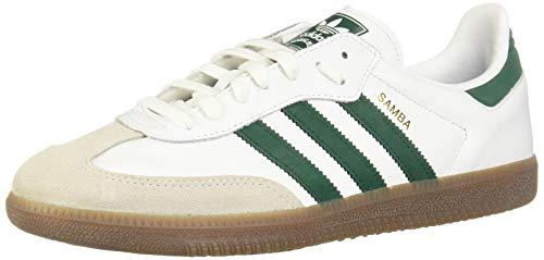 adidas Originals Sneaker Samba OG B75680 Weiß Grün, Schuhgröße:45 1/3