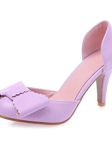 WSS 2016 Chaussures Femme-Mariage / Soirée & Evénement / Habillé / Décontracté / Sport-Noir / Rose / Violet / Blanc / Amande-Talon Aiguille-Talons- white-us6 / eu36 / uk4 / cn36