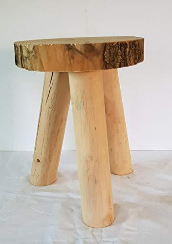 Toller Garten Hocker Kinderhocker aus Massivholz Möbel aus Holz