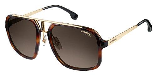 Carrera Unisex-Erwachsene 1004/S HA 2IK Sonnenbrille, (Havana Gold/BRWN SF), 57