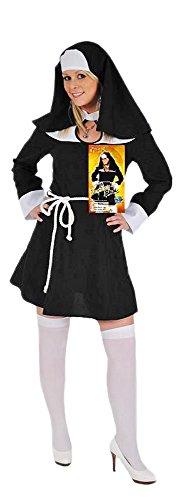 Nonne Sexy Kostüm - Das Kostümland Sexy Nonne Felicita Kostüm für Damen Gr. 42