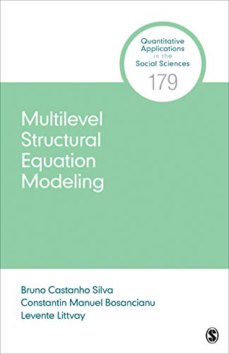 Multilevel Structural Equation Modeling (Quantitative Applications in the Social Sciences Book 179) (English Edition)