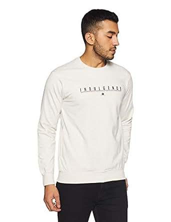 Duke Men's Sweatshirt (LF3351EcruS_Ecru_S)